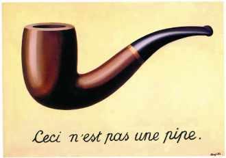 """Ceci n""""est pas une pipe de Magritte"""