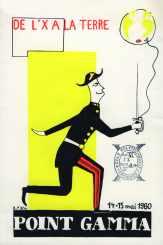 Affiche Point GAMMA 1960