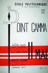 Affiche Point GAMMA 1962