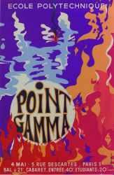 Affiche Point GAMMA 1968