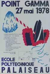 Affiche Point GAMMA 1978