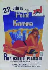Affiche Point GAMMA 1985