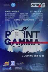 Affiche Point GAMMA 1990
