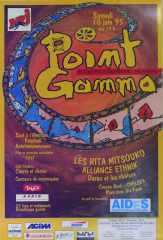 Affiche Point GAMMA 1995
