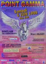 Affiche Point GAMMA 1998