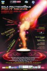 Affiche Point GAMMA 2004