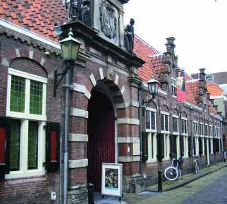 Le musée Frans-Hals à Haarlem, Pays-Bas.
