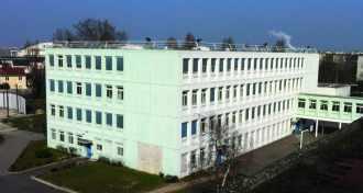 Le collège René-Descartes, Le Blanc-Mesnil (Seine-Saint-Denis).