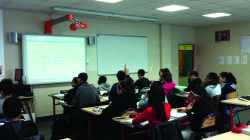 Classe avec tableau numérique interactif