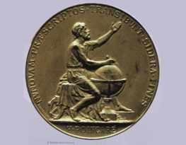 Médaille du roi de Suède attribuée à Henri Poincaré