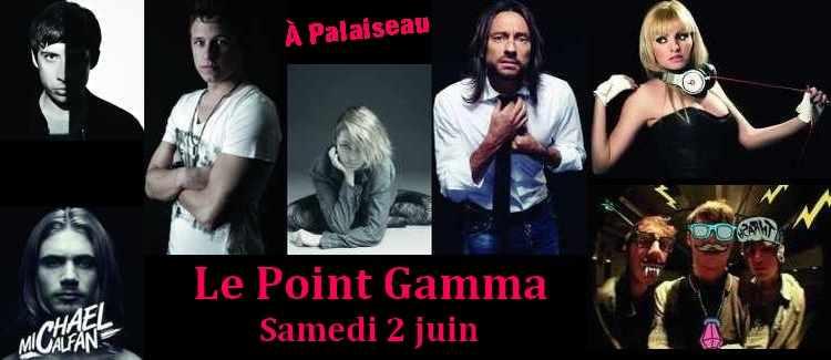 Les artistes du point GAMMA 2012