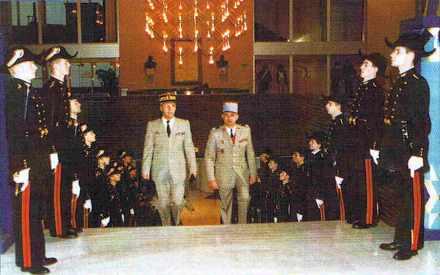 Le lundi 3 février 1997,  le général Novacq reçoit les honneurs des polytechniciens des promotions 94 et 95.