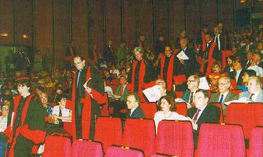 L'arrivée des professeurs de l'Ecole polytechnique