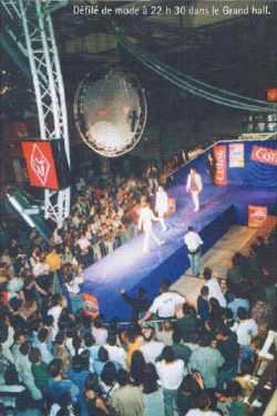 Point Gamma 1998 : Défilé de mode à 22h 30