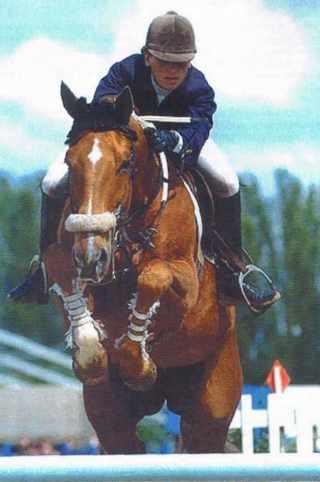 Jumping de l'X 1998, saut