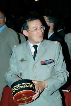 Général Xavier Michel, nommé directeur général de l'École polytechnique