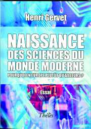 Couverture des sciences du monde moderne
