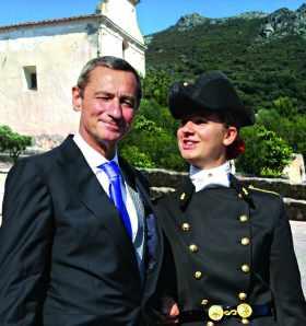 Pierre-André MARTEL (72) et sa fille Wanda (10)