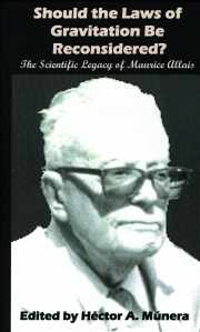 Couverture du livre : SHOULD THE LAWS OF GRAVITATION BE RECONSIDERED? au sujet des travaux de Maurice ALLAIS