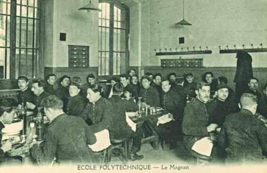 Le Magnan à l'Ecole polytechnique en 1943