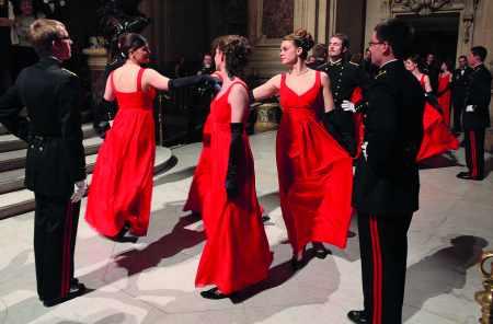 La danse du quadrille (Le quadrille des Lanciers)