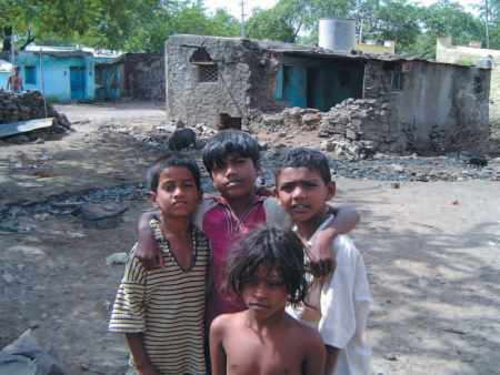 Inde-Espoir Bijapur 2004 : les enfants