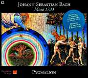 Coffret du CD : Missa 1733, Bach par l'ensemble Pygmalion
