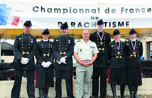 Les polytechniciens au championat de France de parachutisme
