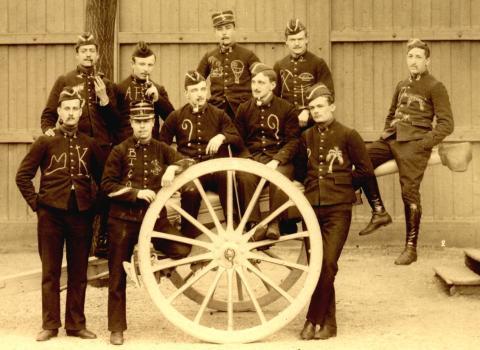 Un Casert de la promo 1901 à l'école polytechnique
