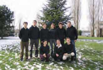 Les membres du binet Bal de l'X 2004