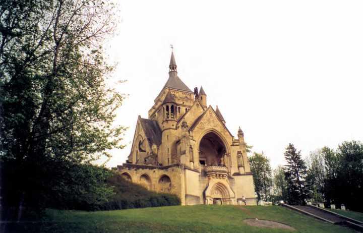 la chapelle de la Marne à Dormans.