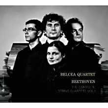 Coffret du CD : Les Quatuors de Beethoven par le Quatuor Belcea