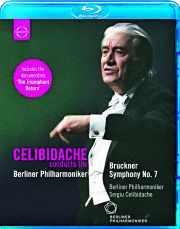 Coffret du DVD 7ème Symphonie de Bruckner dirigé par Celidibache