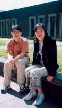 Zhoulai Fu et Yun Du font partie des treize polytechniciens 2003 étrangers qui ont suivi le semestre d'accueil