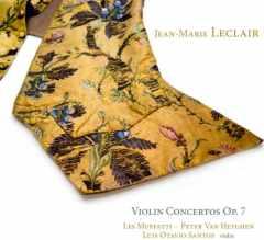 Coffret du CD de LECLAIR : Concertos pour violon
