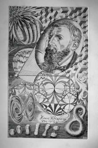 POINCARÉ, dessin de Claude GONDARD (65)
