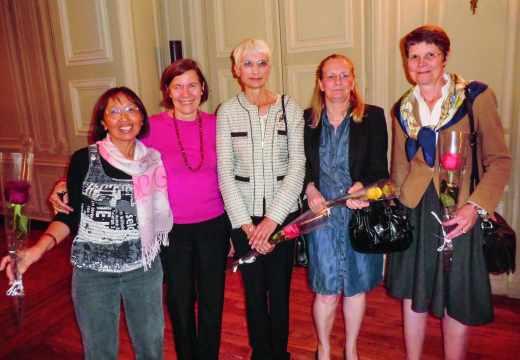 2012 : Les élèves féminines de la promotion 1972 de l'École polytechnique
