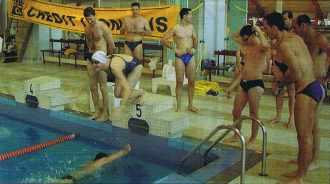 24 heures de natation de l'Ecole polytechnique 2003