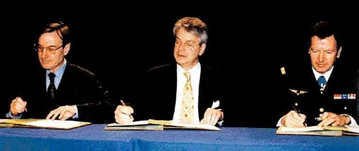 Signature du contrat pluriannuel entre l'État et l'École polytechnique