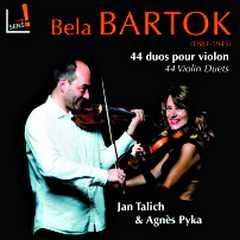 Coffret du CD : Bela BARTOK, 44 duos pour violon