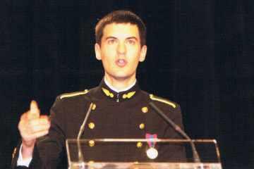 Le major Romain Launay (promotion 1998)