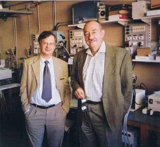 Bernard Meunier et Sylvain Blanquet, professeurs à l'Ecole polytechnique