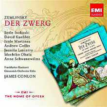 Coffret du CD : Der Swerg de ZEMLINSKY