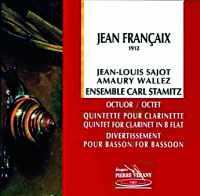 Coffret du CD : musique de Jean Françaix