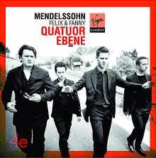 Coffret du CD : Mendelssohn par le Quator Ebène