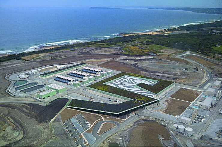 L'usine de dessalement d'eau de mer de Melbourne (Australie)