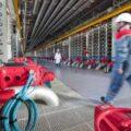 Membrane de nanofiltration de l'usine de Méry-sur-Oise.