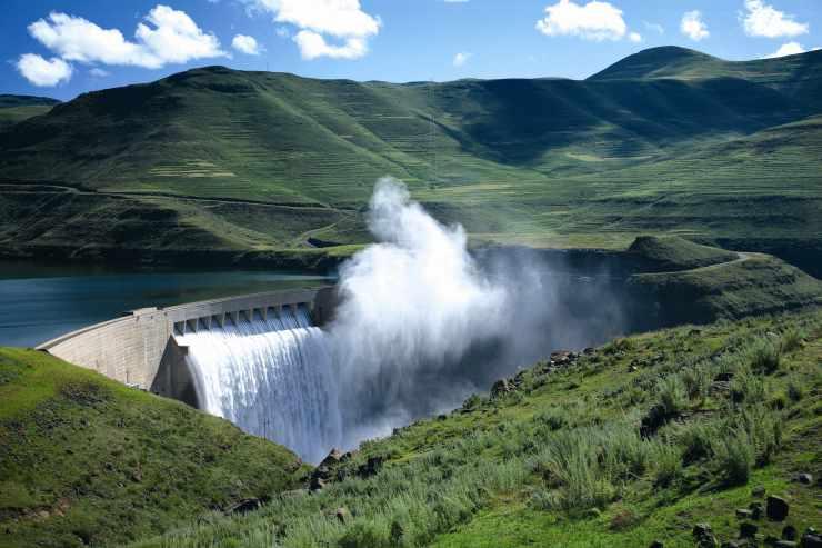 Barrage de Katse - Lesotho