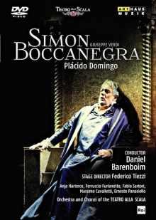 Coffret du Blue-Ray Simon Boccanegra de Verdi
