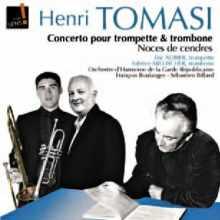 Coffret du CD de TOMASI, concerto et Noces de cendre